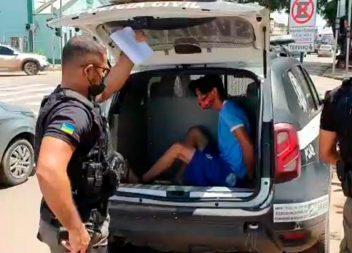 Condenado por roubo qualificado, foragido é capturado em Santana