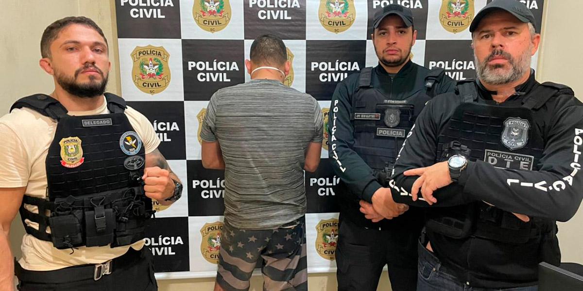 Líder de facção criminosa do Amapá é preso em Santa Catarina