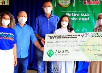 Casa da Hospitalidade recebe aporte financeiro de R$ 400 mil