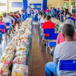 Governo realiza nova entrega de cestas de alimentos em Santana