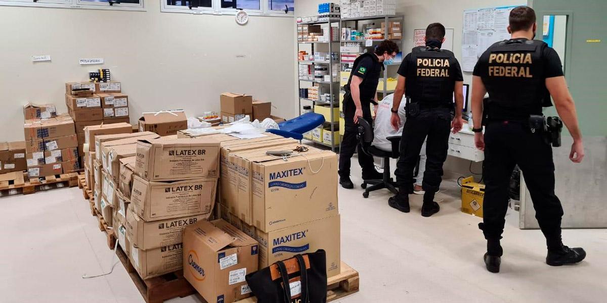 Polícia Federal apura desvio de medicamentos para intubação de pacientes com Covid-19