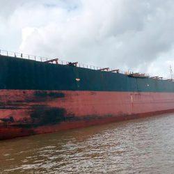 Tripulantes de navio que está no Amapá testam positivo para Covid-19