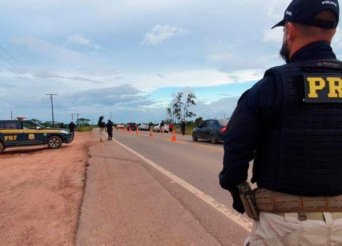 Três motoristas são presos por embriaguez ao volante nas estradas federais do AP