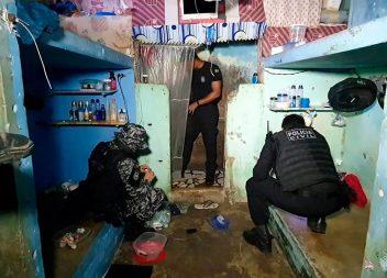 Forças de Segurança Pública realizam nova operação no Iapen