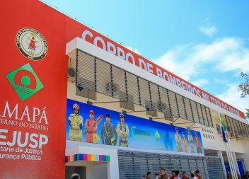 Governo inaugura novo quartel do Corpo de Bombeiros na zona oeste de Macapá