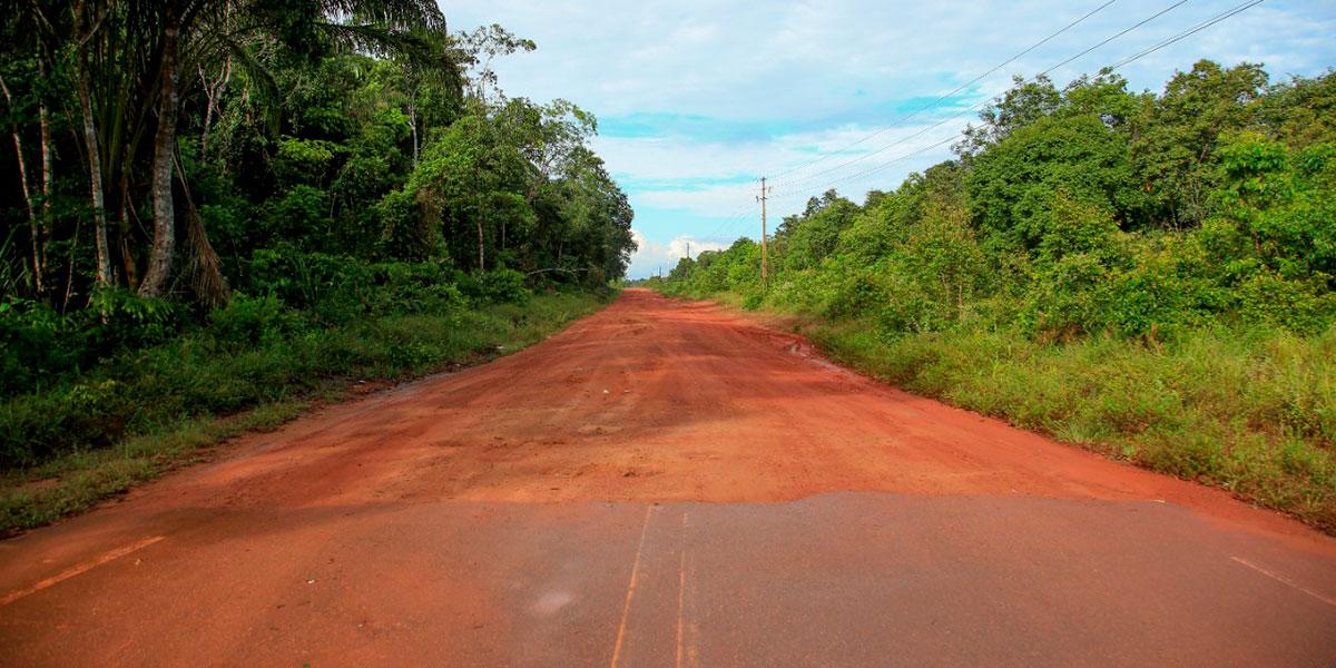 Ramal do Macacoari deve ser asfaltado até o fim do ano