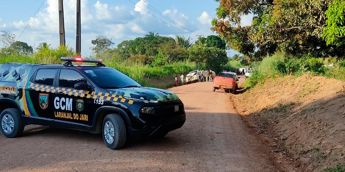 Acidente deixa dois mortos na BR-156