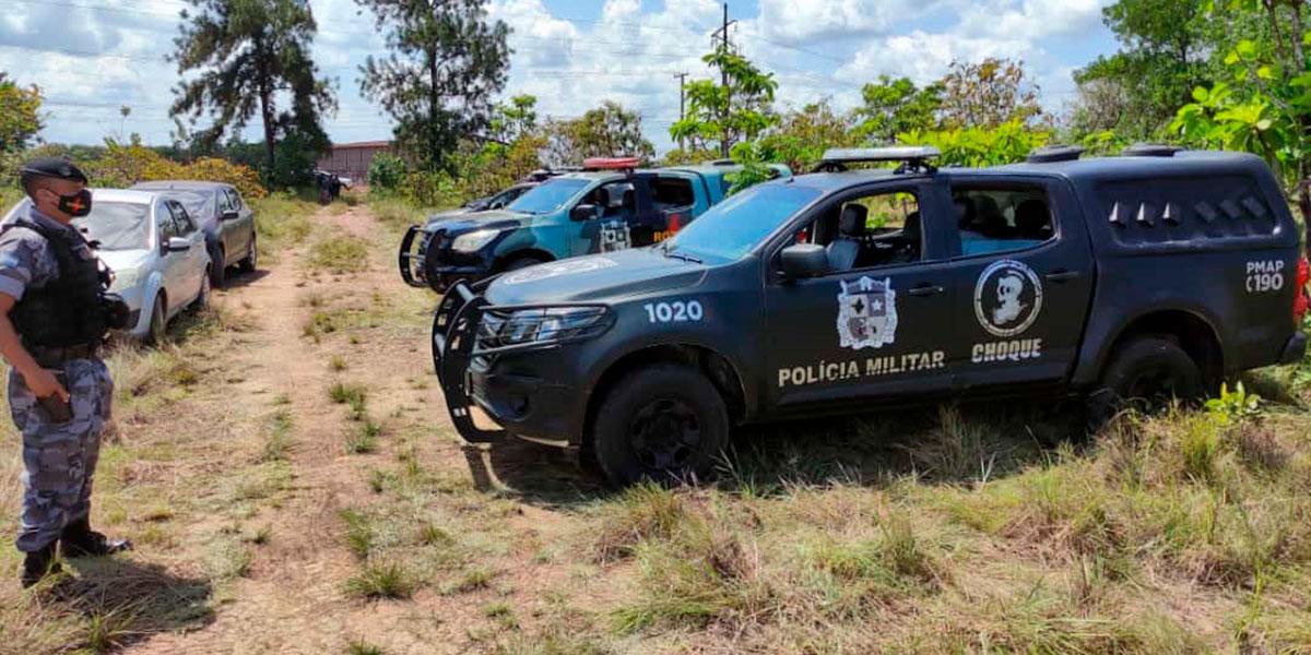 Confronto entre criminosos e policiais termina com cinco mortos no Distrito do Coração