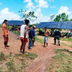 Batalhão Ambiental da PM localiza garimpo ilegal em Tartarugalzinho