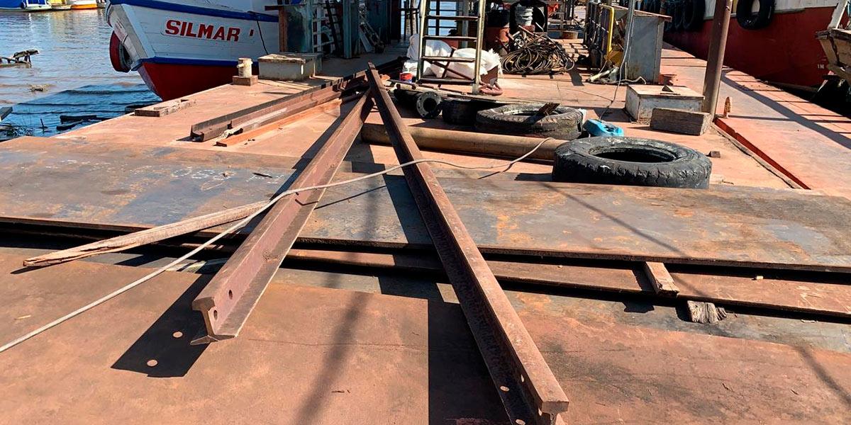 Organização criminosa pode estar por trás dos furtos de trilhos da estrada de ferro do AP