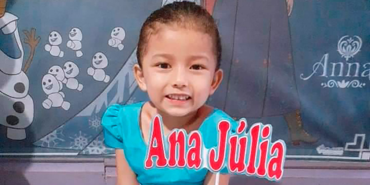 Criança de 5 anos morre baleada na comunidade do Ambrósio