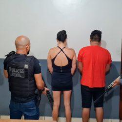 Polícia Civil prende quatro pessoas envolvidas com o tráfico de drogas